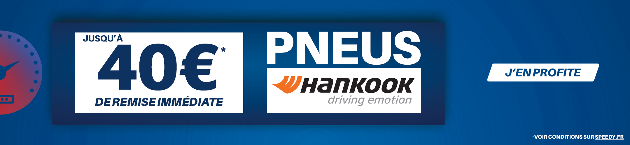Promotion Speedy pneus Hankook