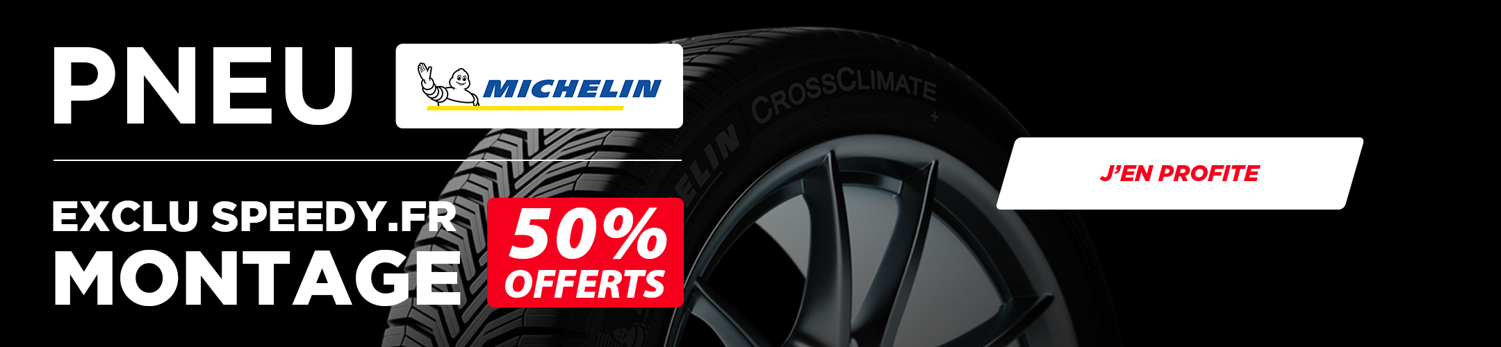 Pneu Michelin Exclu Web  50 pourcents Montage